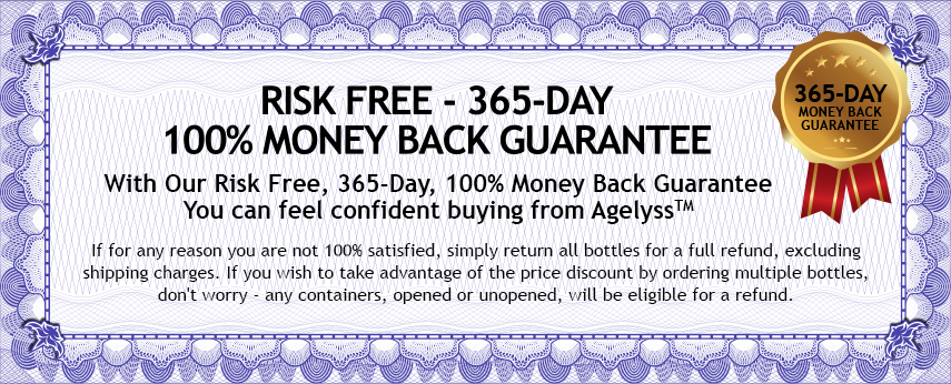 Risk Free, 365-Day, 100% Money Back Guarantee
